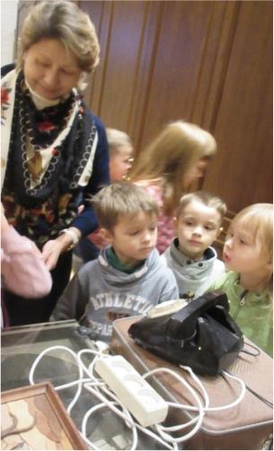 Naerupallid muuseumis